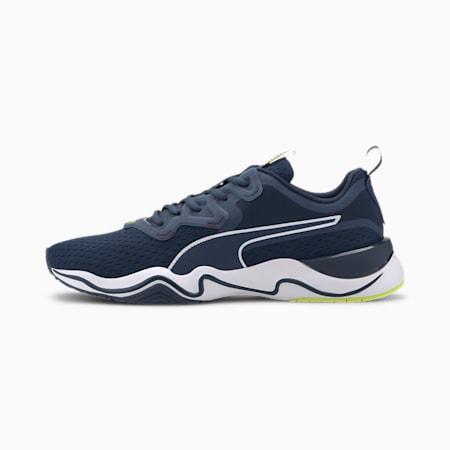 Zone XT Men's Training Shoes, Dark Denim-Yellow Alert, small