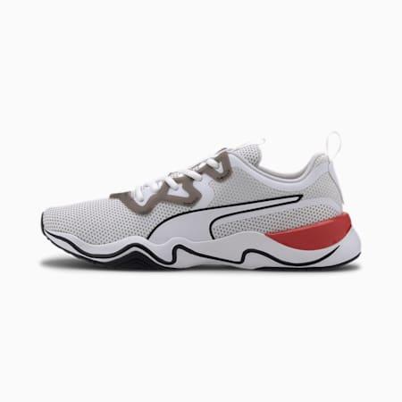 Basket Zone XT Knit pour homme, Puma White-Puma Black, small