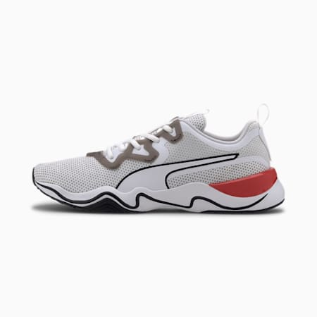 Zone XT Knit Men's Training Shoes, Puma White-Puma Black, small