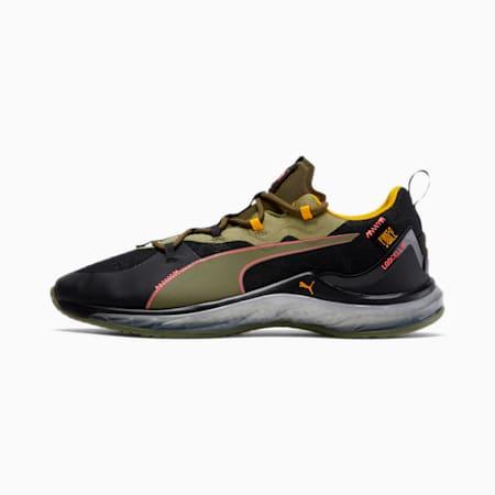 PUMA x FIRST MILE LQDCELL Hydra Camo Men's Training Shoes, Burnt Olive-Puma Black-Pink, small