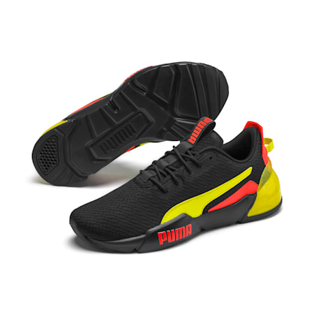 CELL Phase Gloss Men's Training Shoes, P Black-Lva Blst-Ylow Alert, small
