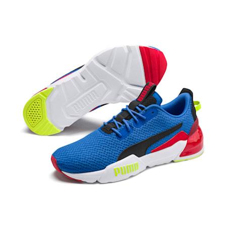 Zapatos de entrenamiento CELL Phase Gloss para hombre, Palace Blue-Puma Black, pequeño