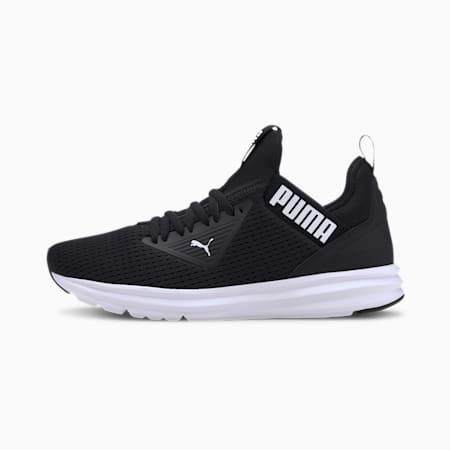 Enzo Beta Mesh Men's Training Shoes, Puma Black-Puma White, small-IND