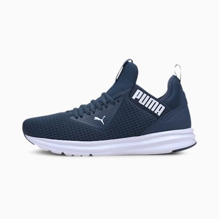 Enzo Beta Mesh Men's Training Shoes, Dark Denim-Puma White, small-IND