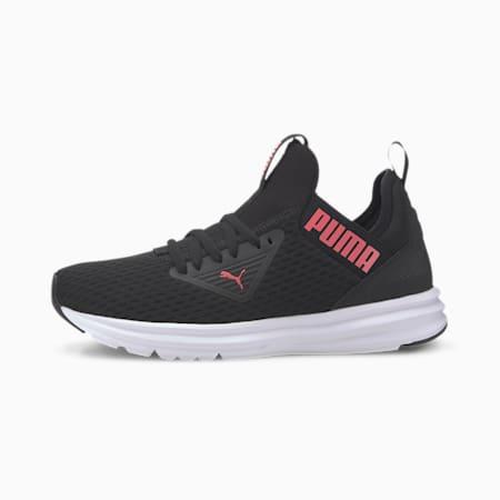 Enzo Beta Mesh Women's Training Shoes, Puma Black-Sun Kissed Coral, small