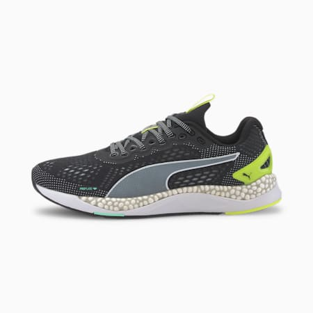 Speed 600 2 Men's Running Shoes, Puma Black-Yellow Alert, small