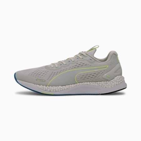 Zapatos para correr SPEED 600 2 para hombre, Gray Violet-Fizzy Yellow, pequeño