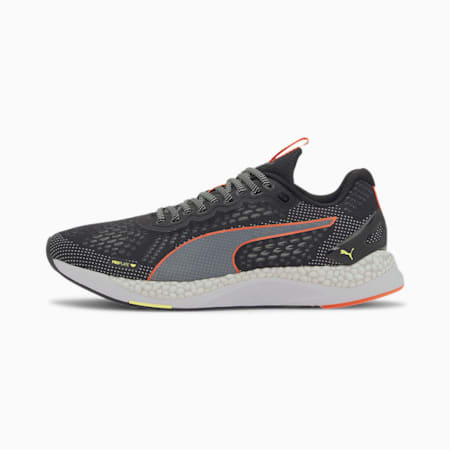 Speed 600 2 Men's Running Shoes, Black-Yellow-Nrgy Peach, small-SEA