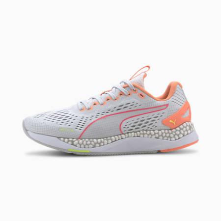 Zapatos para correr SPEED 600 2 para mujer, Puma White-Fizzy Orange, pequeño