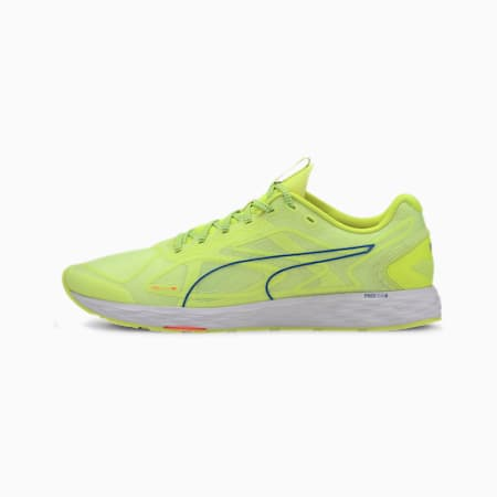 Chaussure de course Speed 300 Racer 2 pour homme, Yellow-White-Palace Blue, small
