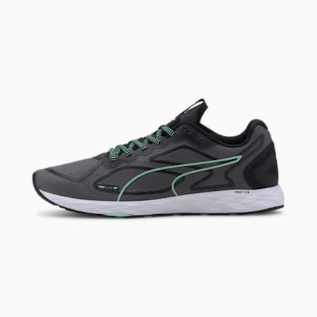Damskie buty do biegania Speed 300 Racer 2, Black-Green Glimmer-White, small