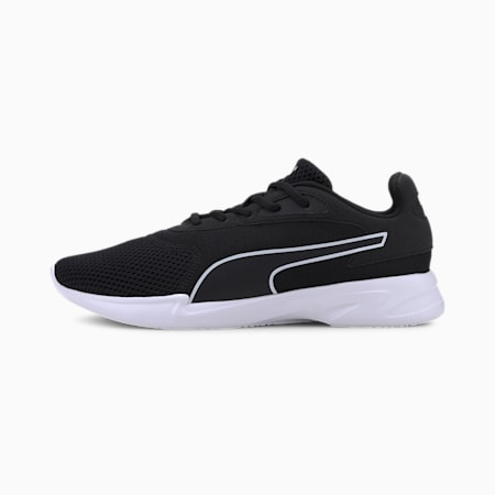Jaro Men's Running Shoes, Puma Black-Puma White, small-IND