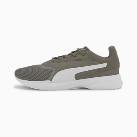 Jaro Men's Running Shoes, Ultra Gray-Puma White, small-IND