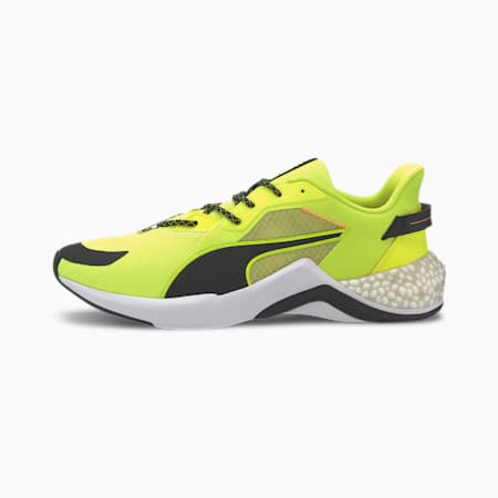 PUMA x FIRST MILE HYBRID NX Ozone Men's Running Shoes, Yellow Alert-Puma White, small-IND