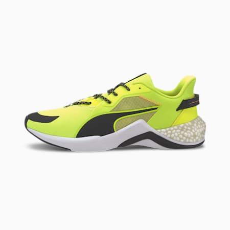 PUMA x FIRST MILE HYBRID NX Ozone Men's Running Shoes, Yellow Alert-Puma White, small