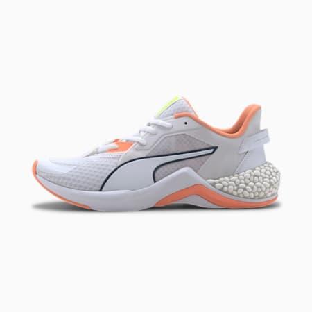 HYBRID NX Ozone Women's Running Shoes, Puma White-Fizzy Orange, small