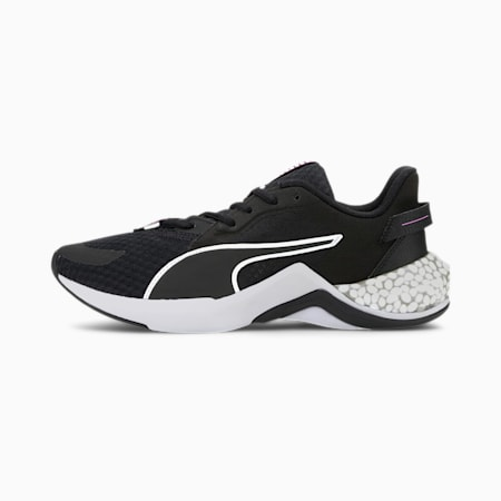 Damskie buty do biegania HYBRID NX Ozone, Puma Black-Luminous Pink, small