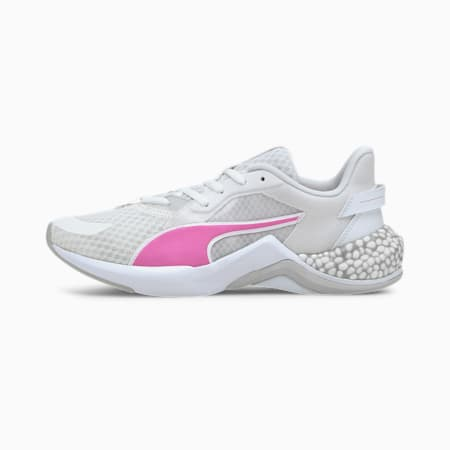 Hybrid NX Ozone Women's Running Shoes, White-Luminous Pink-Gray, small-IND