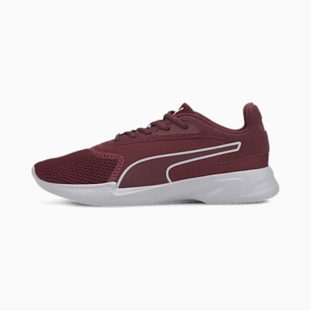 Jaro Women's Running Shoes, Burgundy-Puma White, small-IND