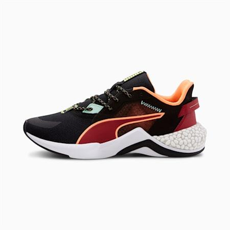PUMA x FIRST MILE HYBRID NX Ozone Women's Running Shoes, Puma Black-Tapioca-White, small