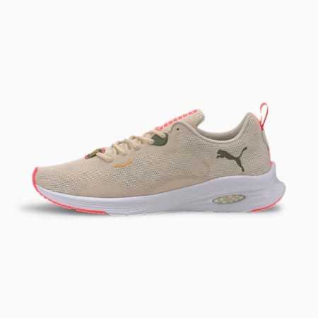 PUMA x FIRST MILE HYBRID Fuego Camo Men's Running Shoes, Tapioca-Burnt Olive-Pink, small