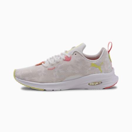 PUMA x FIRST MILE HYBRID Fuego Camo Women's Running Shoes, Puma White-Tapioca, small