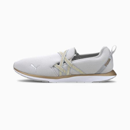 Ella Ballet Metallic Women's Training Shoes, High Rise-Rose Gold, small-IND