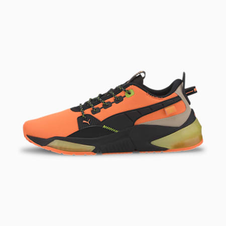 PUMA x FIRST MILE LQDCELL Optic Men's Training Shoes, Fizzy Orange-Puma Black-Tap, small