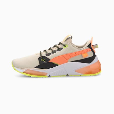 PUMA x FIRST MILE LQDCELL Optic Men's Training Shoes, Tapioca-Fizzy Orange-Black, small