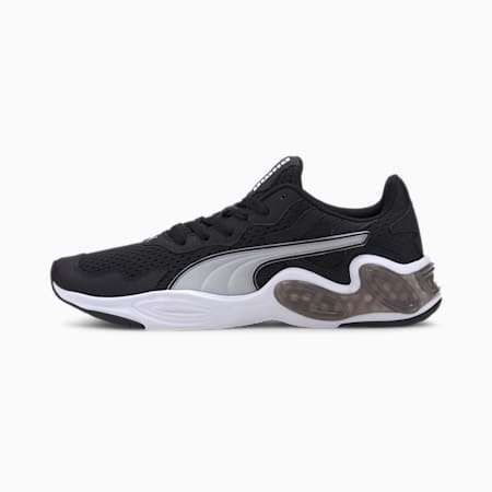 CELL Magma Men's Running Shoes, Puma Black-Puma White, small-IND