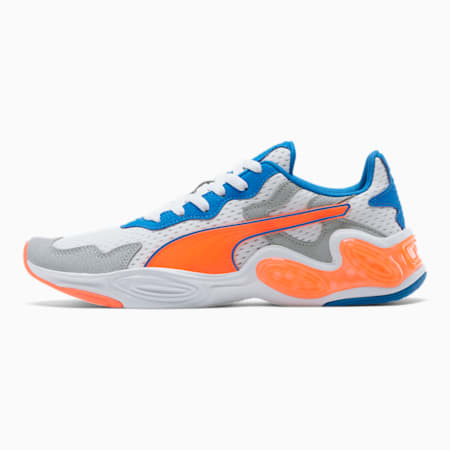 CELL Magma Men's Training Shoes, P White-Lava Blast-Plce Blue, small