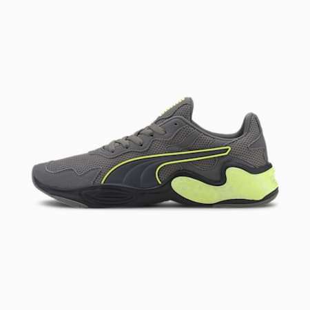 CELL Magma Multi Men's Running Shoes, CASTLEROCK-Yellow Alert, small-IND