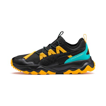 Ember TRL Men's Running Shoes, Puma Black-Blue Turquoise-Orange Alert, small-SEA