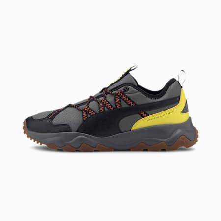 Ember Trail Men's Running Shoes, CASTLEROCK-Black-Lava Blast, small