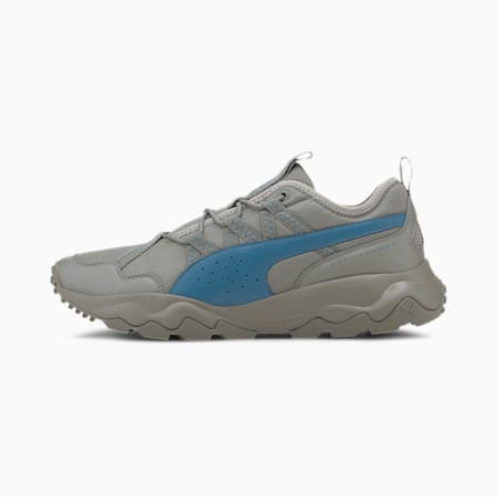 Ember Trail Men's Running Shoes, Ultra Gray-Digi-blue, small