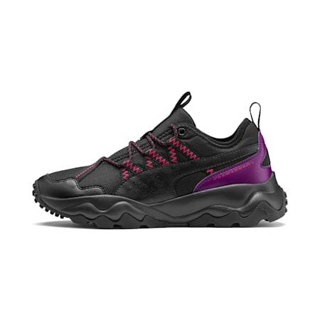 Ember Damen Trail-Laufschuhe, Black-Plum Purple-Nrgy Rose, small