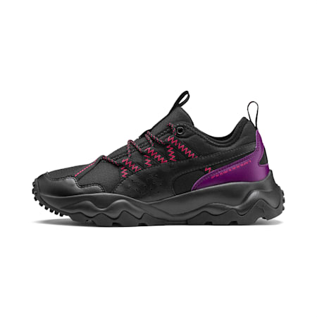 Ember Women's Trail Running Shoes, Black-Plum Purple-Nrgy Rose, small
