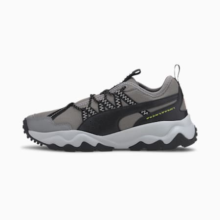 Ember Women's Trail Running Shoes, Steel Gray-Black-Rosewater, small