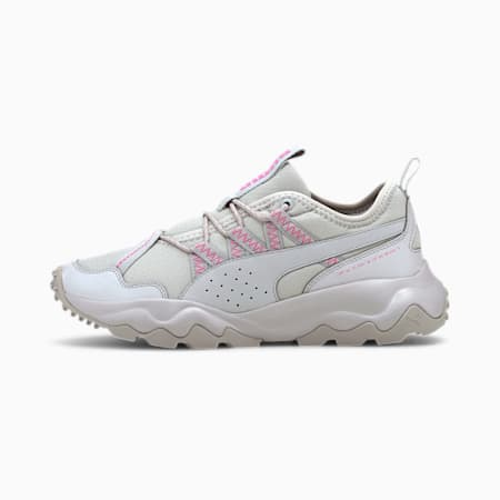 Ember Trail Women's Running Shoes, Gray Violet-Luminous Pink, small
