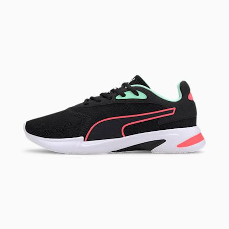 Jaro's Multi Women's Training Shoes, Black-Green Glimmer-Pink, small-SEA
