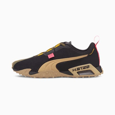 PUMA x FIRST MILE H.ST.20 Camo Running Shoes, Burnt Olive-Puma Black-Tapio, small-SEA