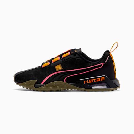 PUMA x FIRST MILE H.ST.20 Camo Women's Training Shoes, Puma Black-Burnt Olive, small