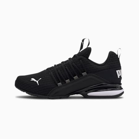 Axelion Block Men's Running Shoes, Puma Black-Puma White, small-GBR