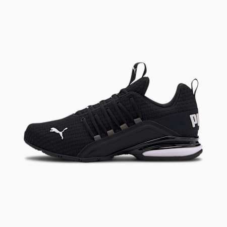 Axelion Block Men's Running Shoes, Puma Black-Puma White, small-IND
