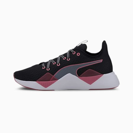 Incite FS Jelly Women's Training Shoes, Black-Bubblegum-White, small-IND