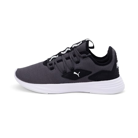 Tropus SoftFoam+ Men's Running Shoes, Asphalt-Black-White, small-IND