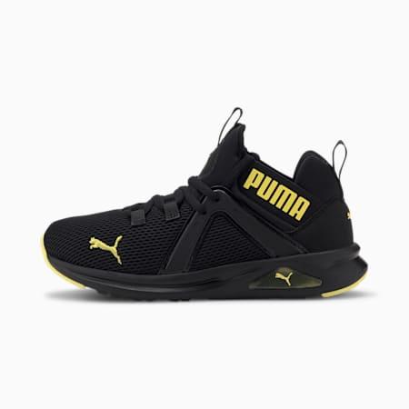 Młodzieżowe buty sportowe Enzo 2 Weave, Puma Black-Meadowlark, small