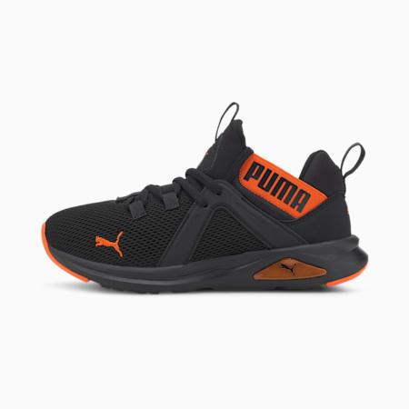 Enzo 2 Weave Boys' Training Shoes JR, Puma Black-Dragon Fire, small