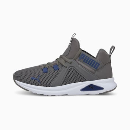 Enzo 2 Weave Youth Sneaker, CASTLEROCK-Elektro Blue, small