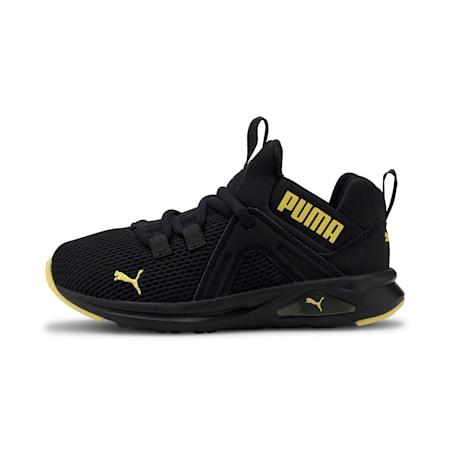 Enzo 2 Weave Kids Sneaker, Puma Black-Meadowlark, small